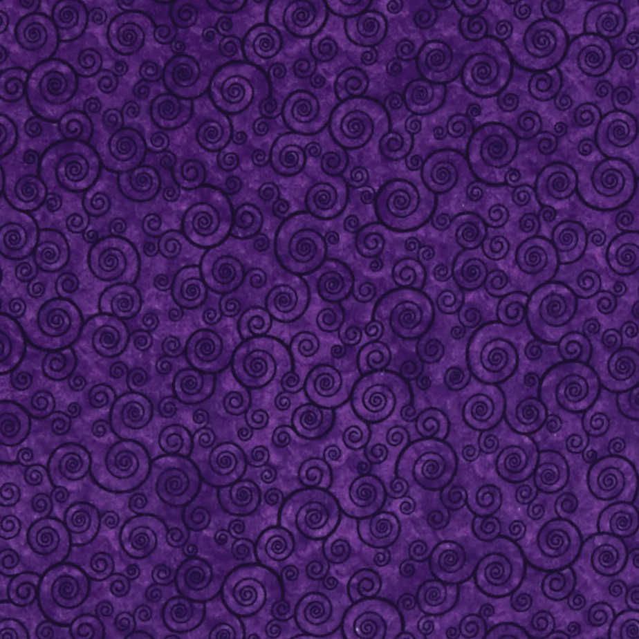 Harmony Flannel Curly Scroll Pansy Fabric by Quilting Treasures in USA