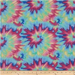 Flannel Tie Dye Multi Fabric