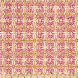 Tina Givens Rose Water Wallpaper Room Lime