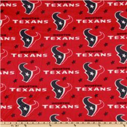 NFL Fleece Houston Texans Red