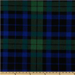 WinterFleece Green/Blue/Black Watch Plaid