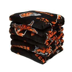 Three Pound NFL Fleece Remnant Bundle Cincinnati Bengals