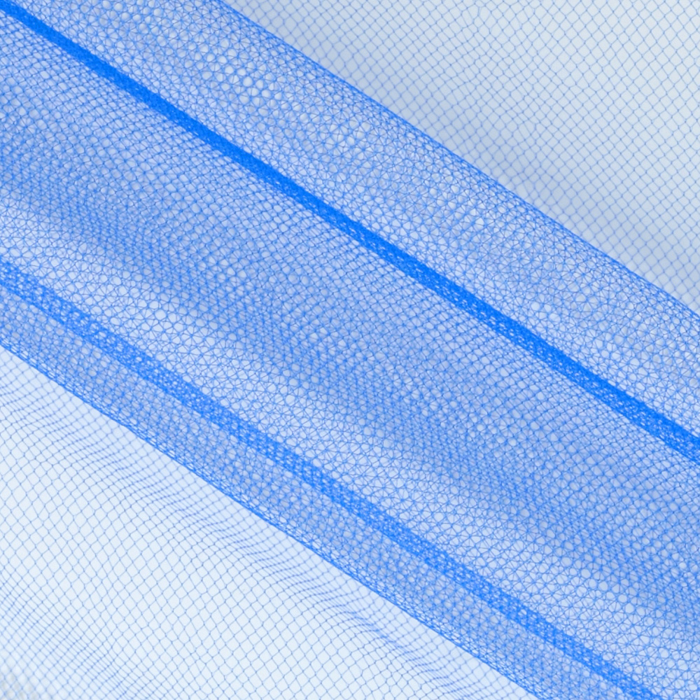 Image of 54'' Wide Nylon Tulle Regal Royal Fabric