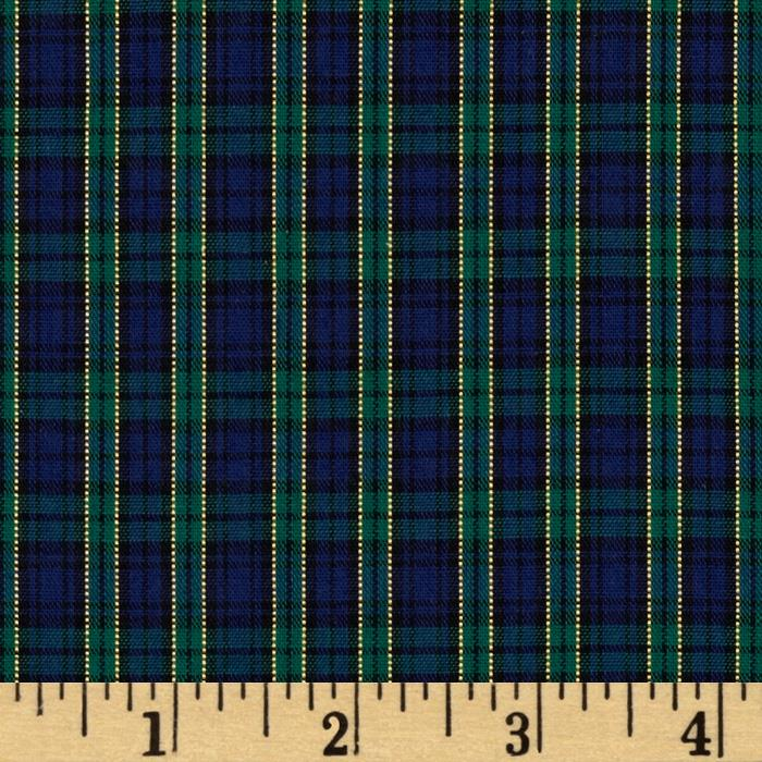 Imperial Tartan Golden Anniversary Plaid Green/Blue