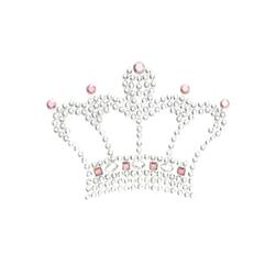 Crown Applique Silver