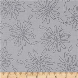Pearl Essence Floral Grey