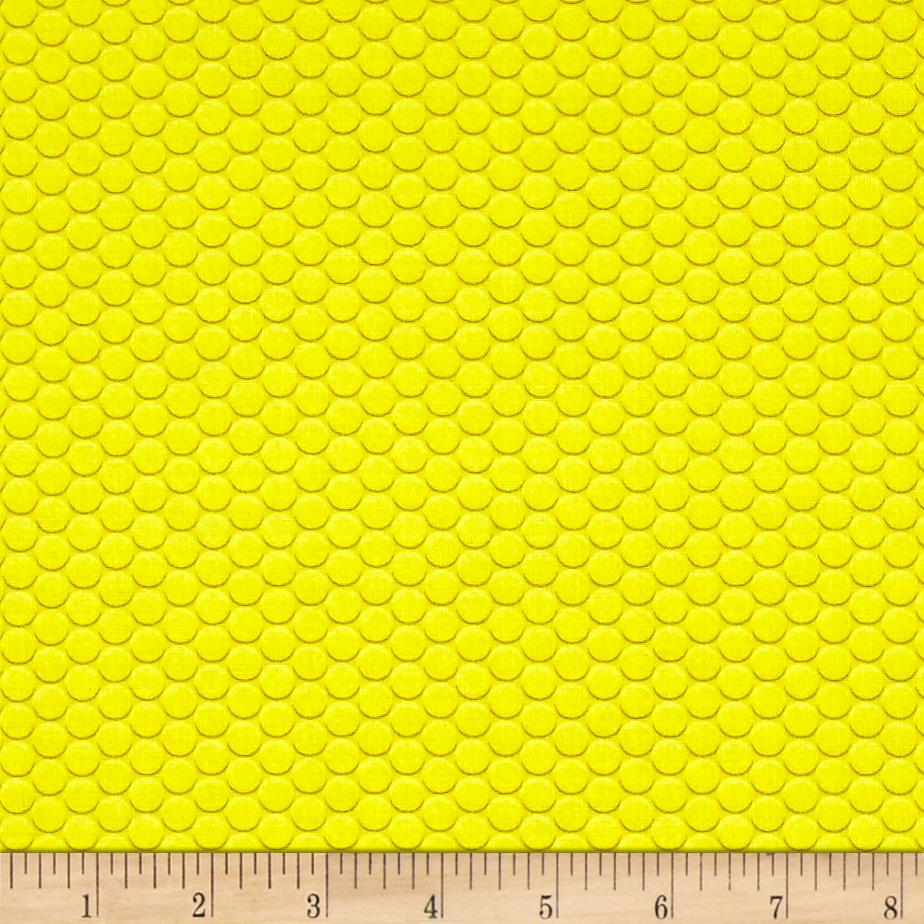 Ibot Hexi Grid Yellow