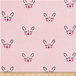 Riley Blake  Double Gauze Deer Pink