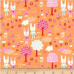 Moda Spring Bunny Fun The Great Hunt Apricot