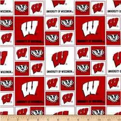 Collegiate Cotton Broadcloth Wisconsin