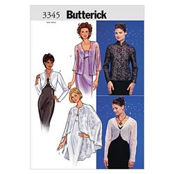 Butterick Misses' Jacket & Cape Pattern B3345 Size 060