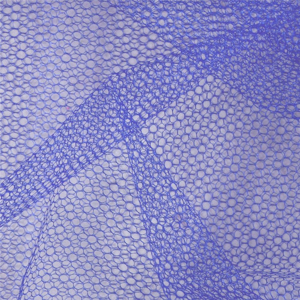 Nylon Netting Periwinkle Fabric By The Yard