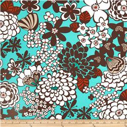 Stachi Floral Turquoise