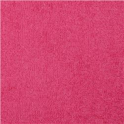 Terry Cloth Cuddle Fuchsia Fabric