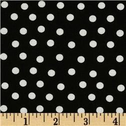 Moda Bear Country School Mama's Dots Black/White