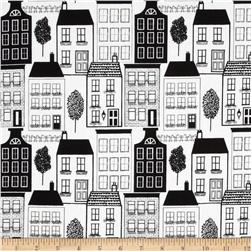 Contempo Our Town Houses Black/White