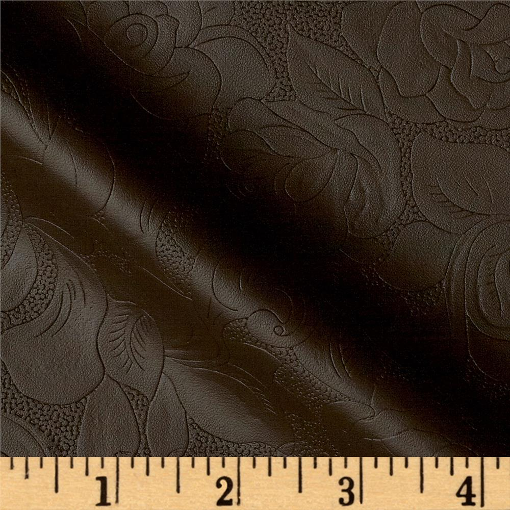 Maverick Faux Leather Chocolate