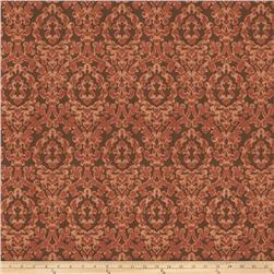 Fabricut Jacquard Eureka Damask Exotic Red