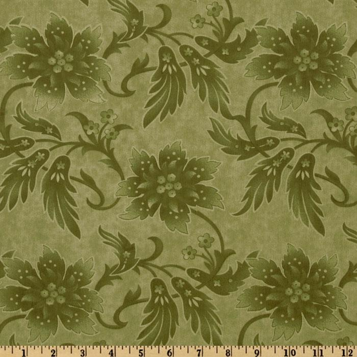 Moda Sentiments 108'' Quilt Backing Tonal Holly