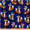 Kaufman Fabulous Foxes Large Sailor Boys Navy