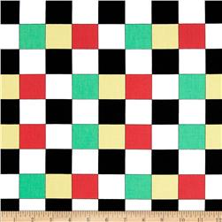 Kanvas Arnold's Diner Checkerboard Multi Fabric