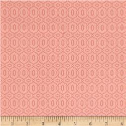 Bella Linked Circles Light Pink