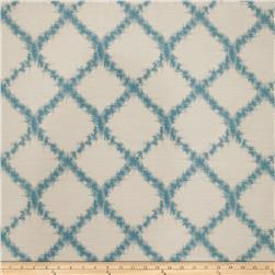 Keller Zoltar Lattice Jacquard Teal