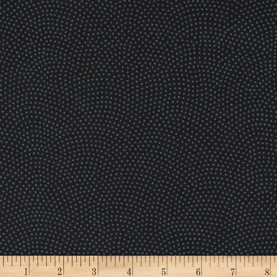 Timeless Treasures Dream Dots Black