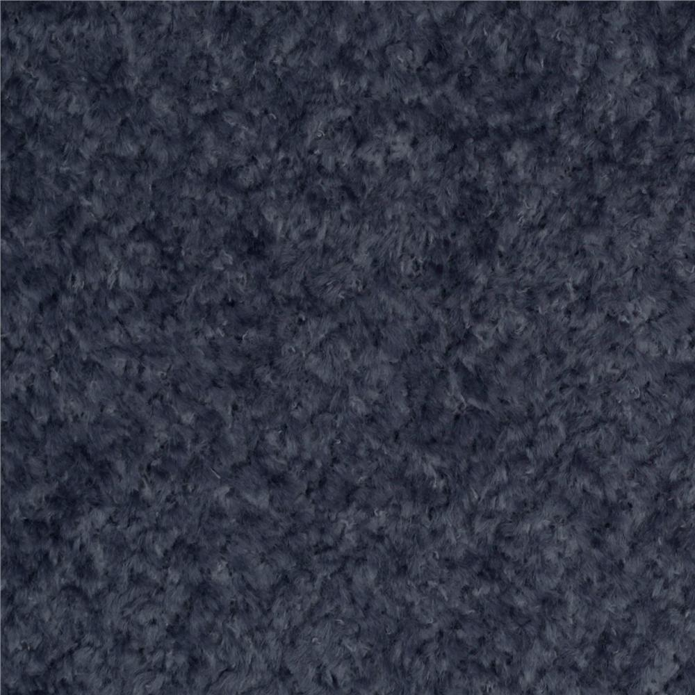 Chenille Navy Blue