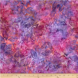 Artisan Batiks Grove Medium Leaves Tropical Fabric