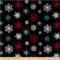 Lucie Crovatto Polar Bear Piroutte Large Snowflake Black
