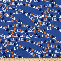 Kanvas Cabana Nautical Flags Slate Blue