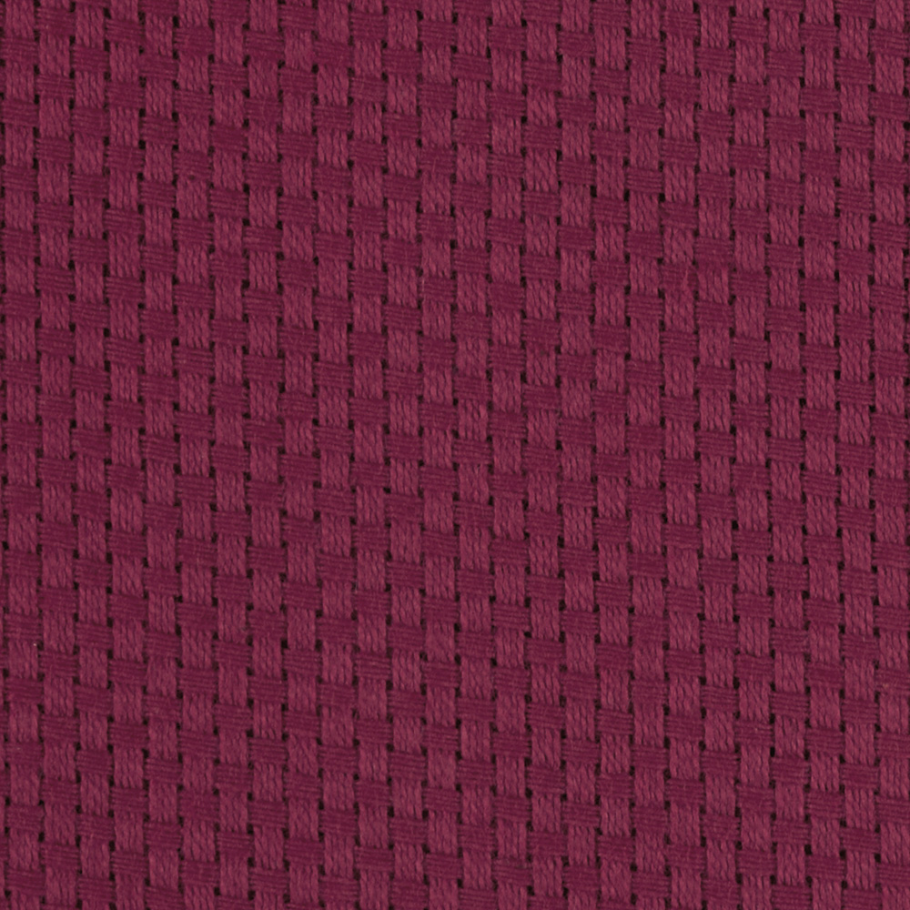 60'' Monk's Cloth Wine Fabric by James Thompson in USA
