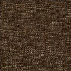 Raffia Blackout Drapery Fabric Chocolate