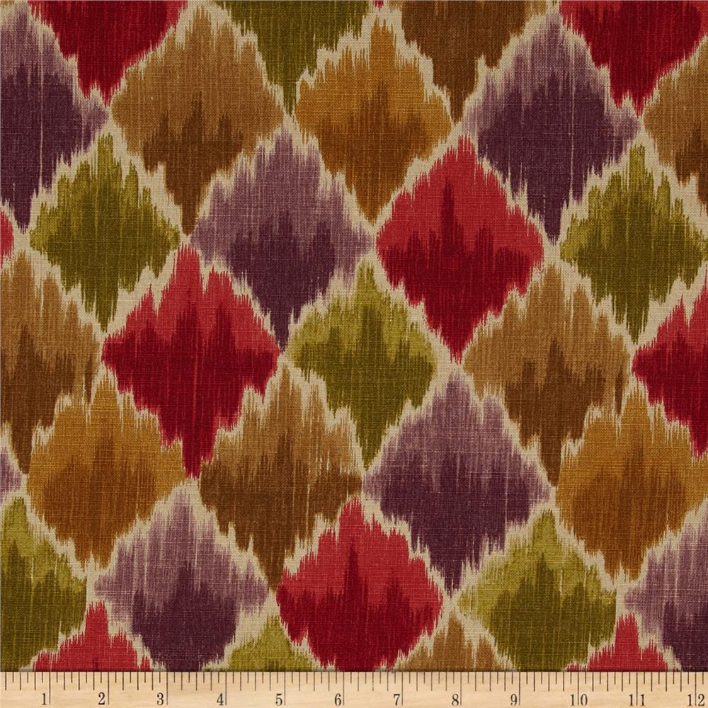 Waverly Baroque Bargello Slub Cordial