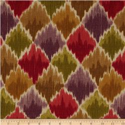 Waverly Baroque Bargello Slub Cordial Fabric