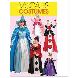 McCall's Misses'/Children's/Girls' Storybook Costumes Pattern M5954 Size KID
