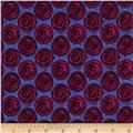 Urban Oasis Spiro-Dot Plum/Blue