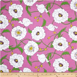 Timeless Treasures Claire Floral Pink