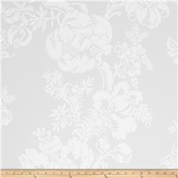Fabricut 8830e Cathay Ii Wallpaper S0010 Ivory (Triple Roll)