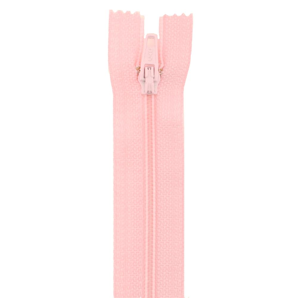 14'' Poly All Purpose Zipper Light Pink