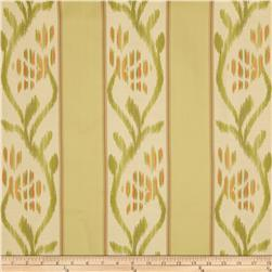 Robert Allen Promo Sionell Stripe Upholstery Citrine