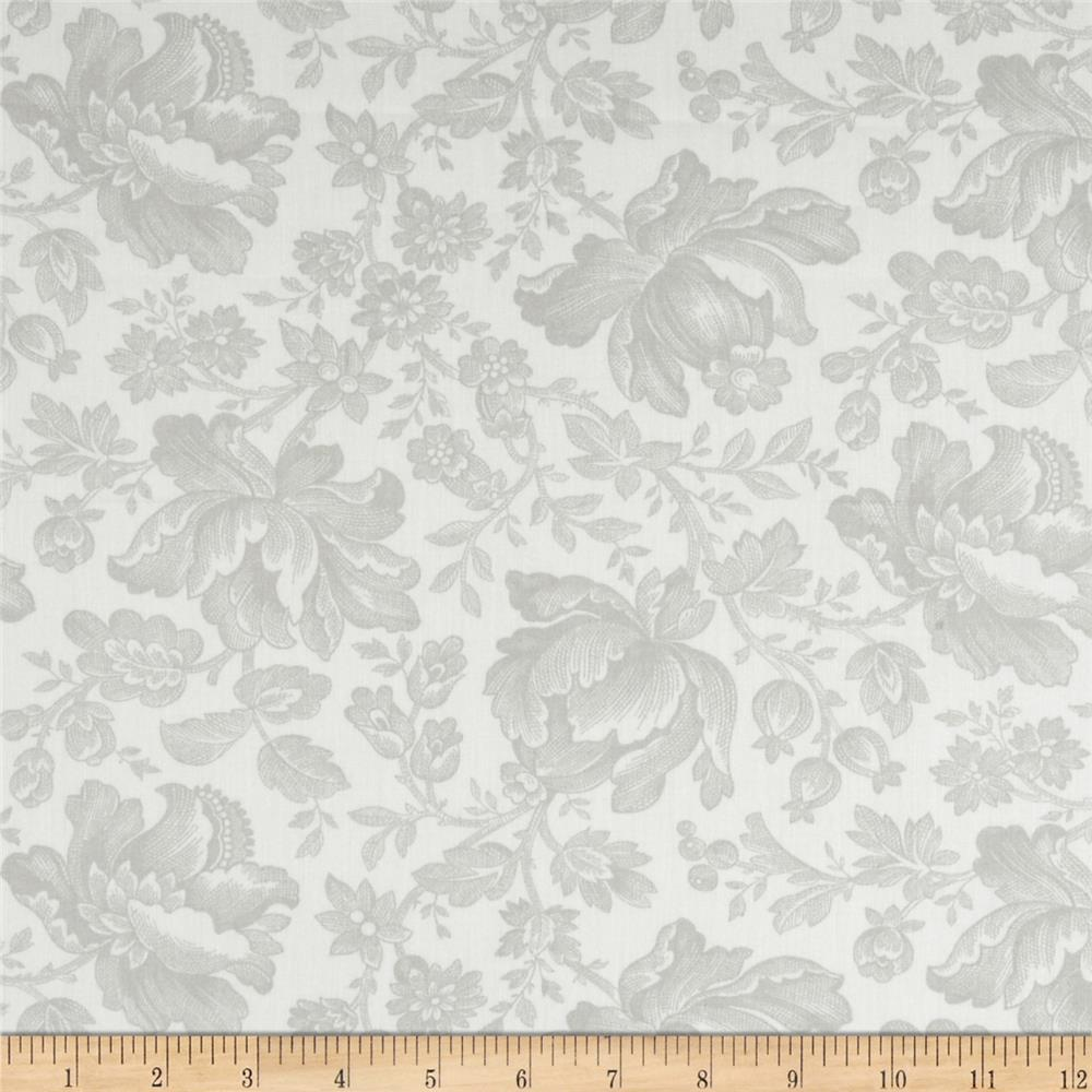 Moda Whitewashed Cottage 108'' Wide Quilt Backs Pebble