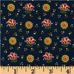Pride and Purpose Floral Navy