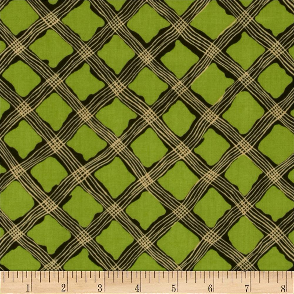 Perfect Pansy Lattice Green