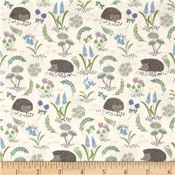 Bluebell Wood HedgeHogs & Flowers Cream