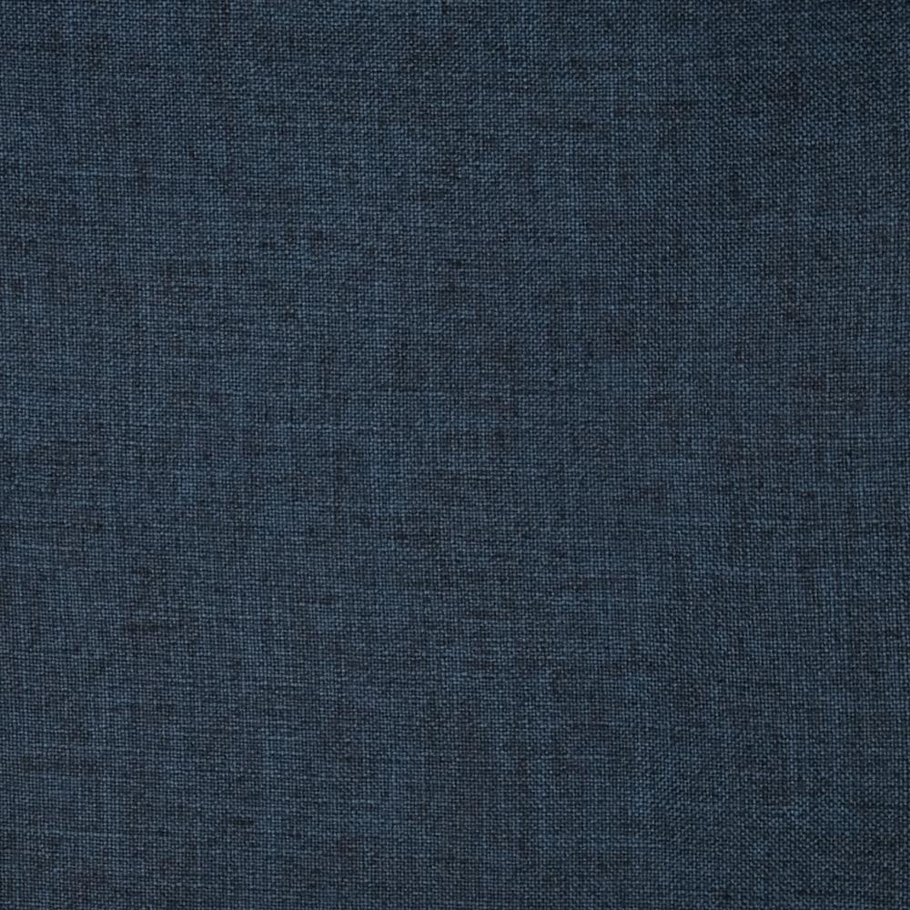 Slubbed Linen Blend Zuma Navy Discount Designer Fabric