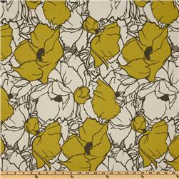 Premier Prints Cottage Summerland Citrine/Natural Fabric
