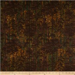Aspen Ridge Flannel Deciduous Tree's Copper Brown