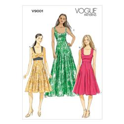 Vogue Misses' Dress Pattern V9001 Size A50